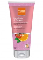 VLCC Mandarin and Tomato Natural Fairness  Face Wash - 175 ml-Pack of 2