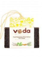 Veda Essence Tulsi Rosemary Shea Butter Vit E Natural Handmade Soap (pack of 2)