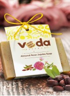 Veda Essence Almond Rose Jojoba Natural Handmade Soap (pack of 2)