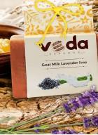 Veda Essence Goat Milk Lavendar Natural Handmade Soap (pack of 2)