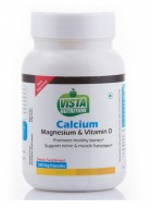 Vista Nutrition Calcium and Magnesium and Vitamin D