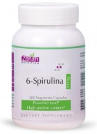 Zenith Nutritions 6-Spirulina 500mg