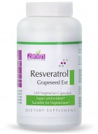 Zenith Nutritions Resveratrol 100mg Grape Seed Ext