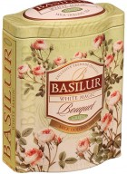 Basilur Bouquet - White Magic Loose Leaf Oolong Green Tea in Tin Caddy