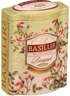 Basilur Bouquet - White Magic Loose Leaf Oolong Green Tea in Tin Caddy