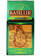 Basilur Island Of Tea - Loose Leaf Green Tea Bags in Packet