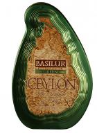 Basilur Island Of Tea - Loose Leaf Green Tea in Tin Caddy