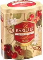 Basilur Loose Leaf Flavored Black Tea in Tin Caddy