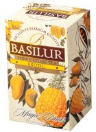 Basilur Magic Fruits Mango & Pineapple - 20 Flavored Black Tea Bags in Foil Sachets