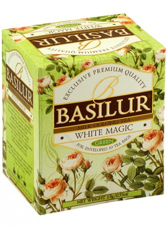 Buy Basilur Bouquet Tea Bag Foil Env White Magic 10 Tea