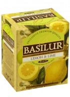 Basilur Magic Fruits Tea Bag Foil Env Lemon & Lime 10 Tea Bags (Pack of 2)