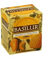 Basilur Magic Fruits Tea Bag Foil Env Mango & Pineapple 10 Tea Bags (Pack of 2)