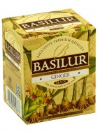 Basilur Magic Fruits Tea Bag Foil Env Ginger 10 Tea Bags (Pack of 2)