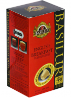 Basilur Tea Capsules Box Board English Breakfast-10 Capsules