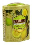 Basilur Loose Leaf Flavored Black Tea Lemon & Lime