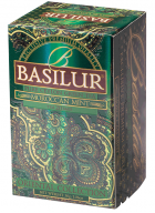 Basilur Oriental Collection Moroccan Mint - 20  Flavored Green Tea Bags in Foil Sachets