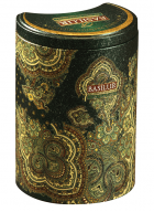 Basilur Oriental Collection Moroccan Mint Loose Leaf Flavored Green Tea in Tin Caddy
