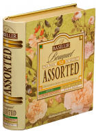 Basilur Bouquet Assorted Flavored Green Tea in Tin Caddy