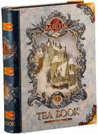 Basilur Tea Book Volume I - Loose Leaf Flavored Black Tea in Tin Caddy