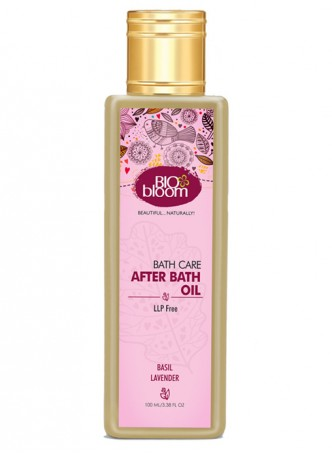 Bio Bloom After Bath Oil - Basil and Lavender