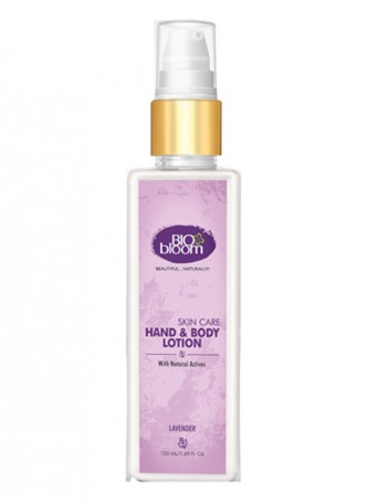 Bio Bloom Hand and Body Lotion - Lavender - 100 ml