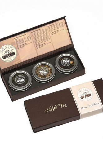Chado Tea 3 Can Premium Gift Box