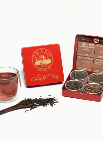 Chado Tea 4 Can Tea Gift Box