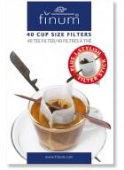 Finum Cup Size 40 Tea Filters