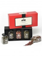 Chado Tea Red Box with Glass Bottles