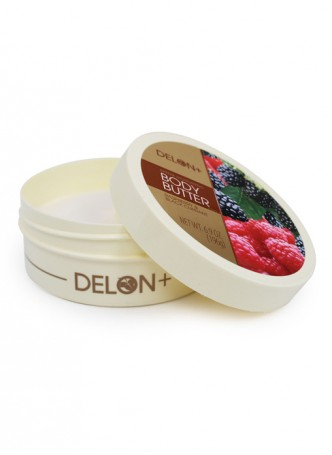 Delon Body Butter Raspberry and Black Currant