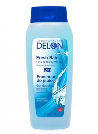 Delon Body Wash Fresh Rain