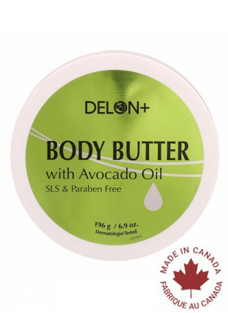 Delon Body Butter Avocado Oil