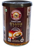 Sussegado Coffee D'luxe Premium Freeze Dried Instant Coffee 100g-Pack of 2
