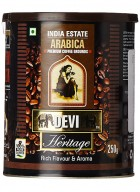 Sussegado Coffee Devi Heritage Premium 100% Arabica Coffee Grounds 250g