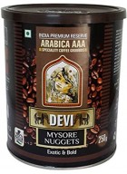 Sussegado Coffee Devi Mysore Nuggets Arabica Coffee Grounds 250g