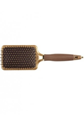 Olivia Garden NanoThermic Ceramic + Ion Shaper Paddle Brush