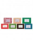 Fuschia Set of 7 Natural Handmade Glycerine Soaps