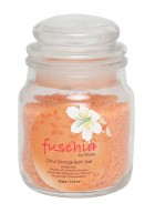 Fuschia Citrus Orange Bath Salt