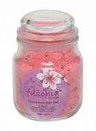 Fuschia Crystal Rose Bath Salt