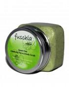 Fuschia Green Tea Face and Body Clarifying Scrub
