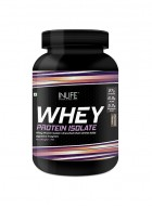 INLIFE 100% Isolate Whey Protein Powder Supplement - 1kg (Chocolate)