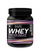 INLIFE 100% Isolate Whey Protein Powder Supplement - 400 gm (Chocolate)