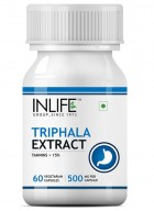 INLIFE Triphala Extract Support Supplement - 60 Vegetarian Capsules