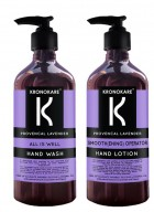 Kronokare Provencal Lavender Handwash and Hand Lotion Combo