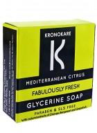 Kronokare Mediterranean Citrus- Glycerine Soap - 100 gm
