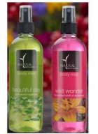 Natural Bath and Body Body Mist Combo