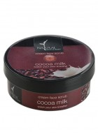 Natural Bath and Body Cream Face Scrub Cocoa Milk