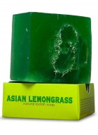 Nyassa Asian Lemongrass Handmade Loofah Soap (Pack of 2)
