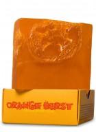 Nyassa Orange Burst Handmade Loofah Soap (Pack of 2)