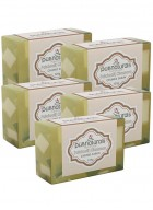 Purenaturals Chunks Soap with Patchouli and Cinnamon - 125g (Set of 5)